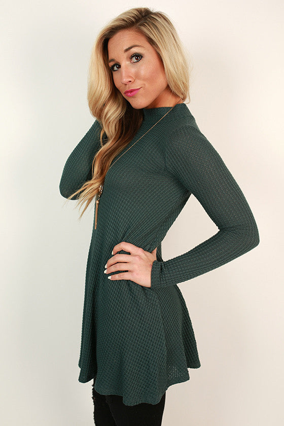 Beverly Hills Tunic in Teal