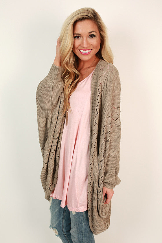 Good Vibes Knitted Cardigan