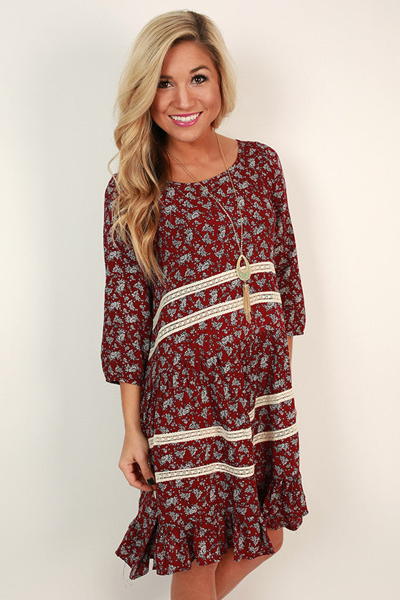 Better Than Ever Printed Dress