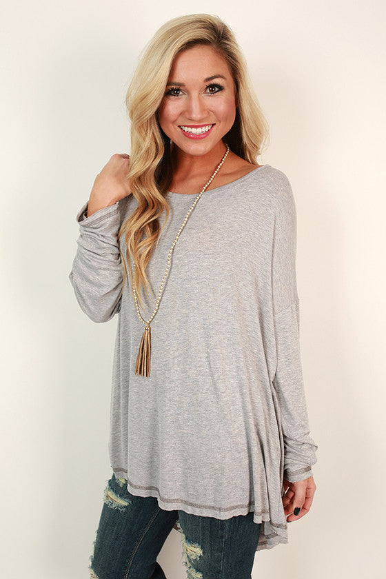 Saturday Style Tunic in Heirloom Lilac