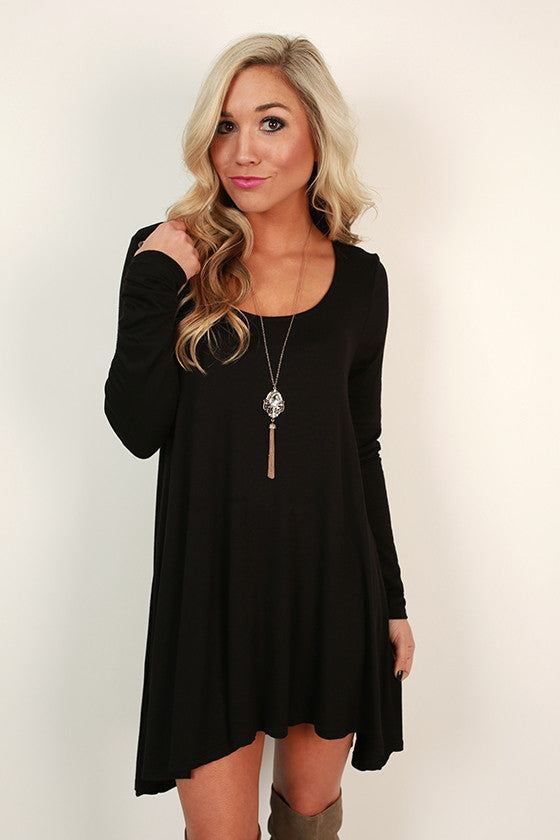 High Standards Tunic in Black