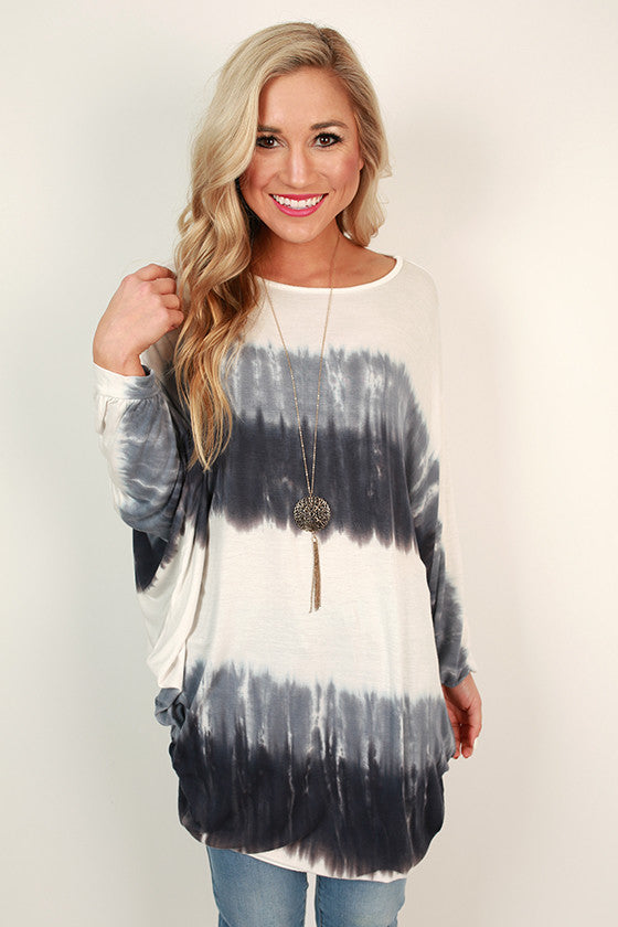 Out To Sea Tie Dye Tunic