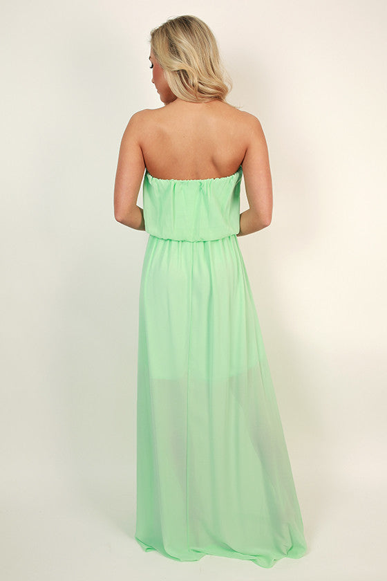 Made For You Maxi Dress in Mint