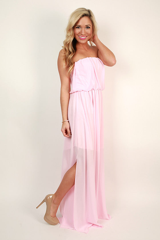 Made For You Maxi Dress in Pink