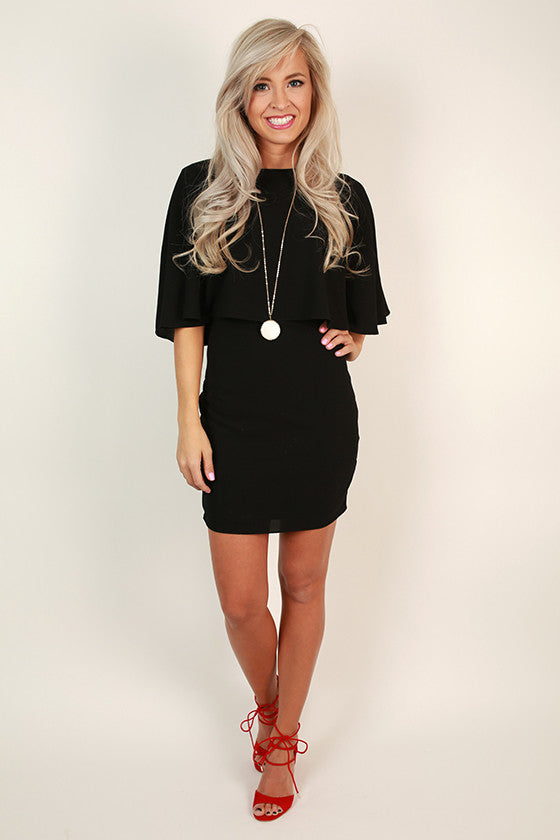 The Fitzgerald Dress in Black