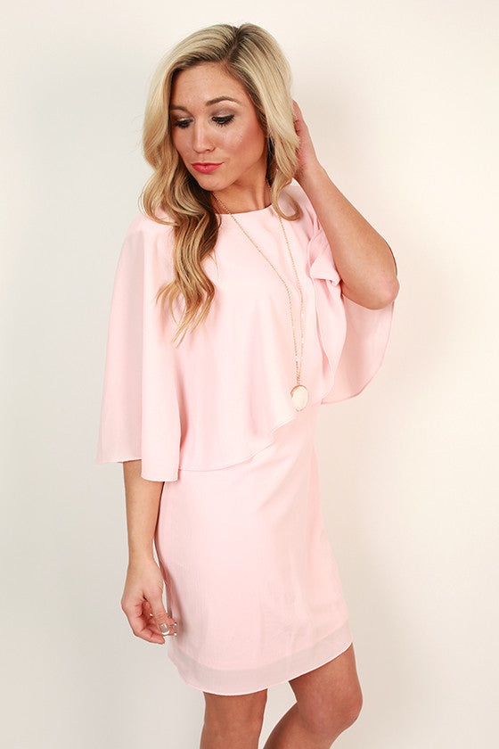 The Fitzgerald Dress in Rose Quartz