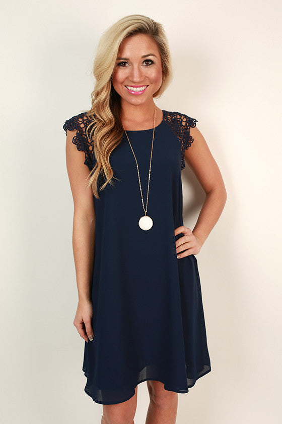 Indigo Inspiration Shift Dress