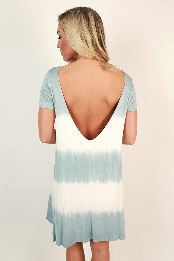 On Cloud Nine Tie Dye Shift Dress