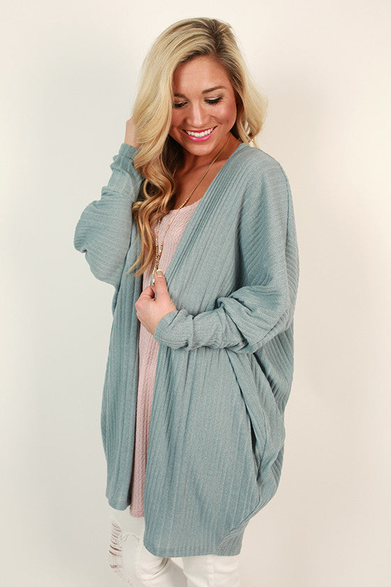 Cuddles Divine Cardigan in Limpet Shell