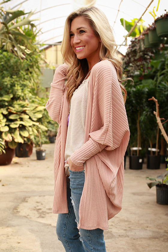 Cuddles Divine Cardigan in Peach