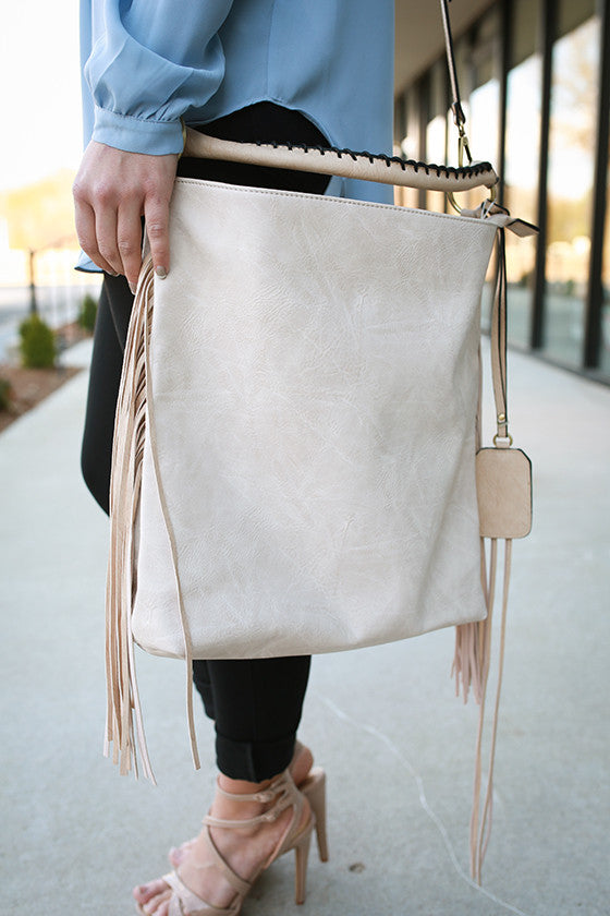 Upper West Side Bag in Ivory