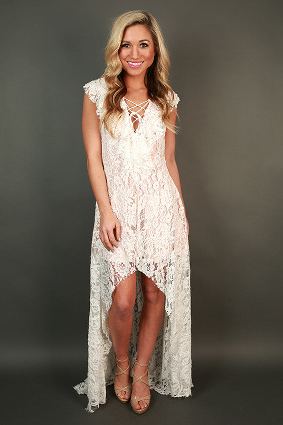 Head Over Heels Lace Dress