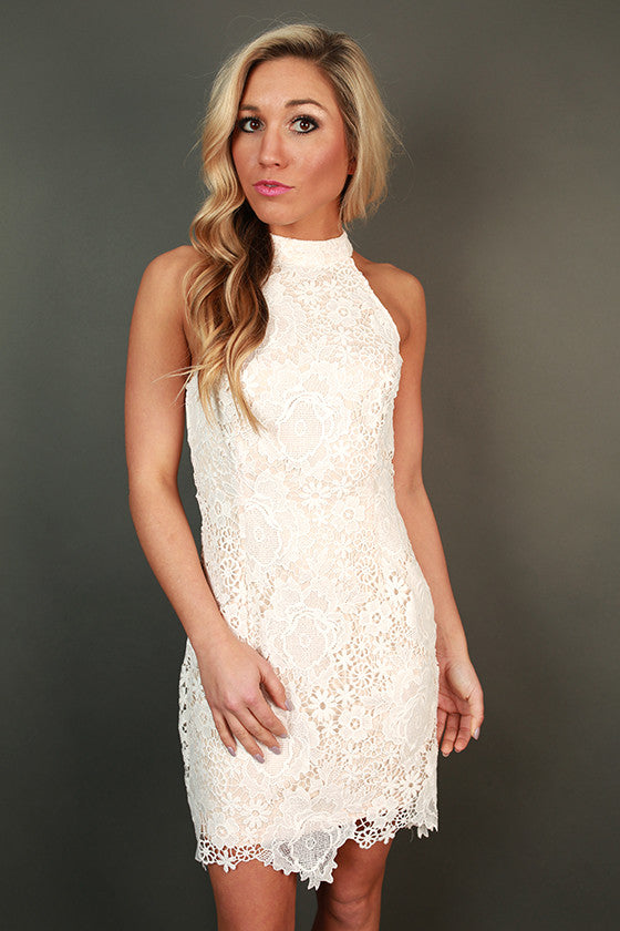 Enchanting Lace Mini