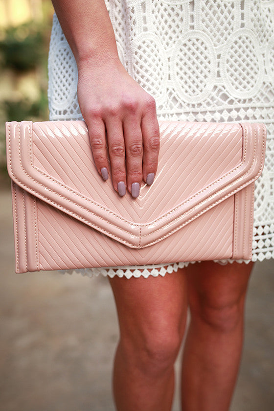 Blushing Babe Clutch