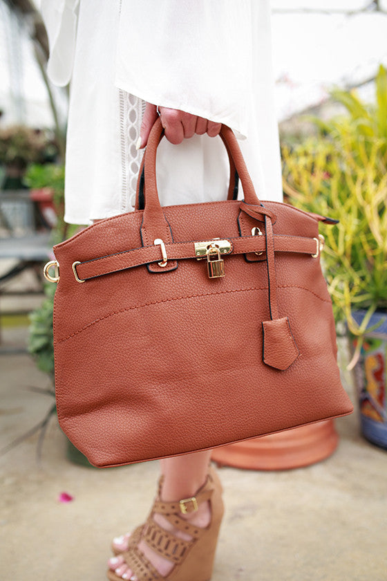 Broadway Bound Bag in Maple