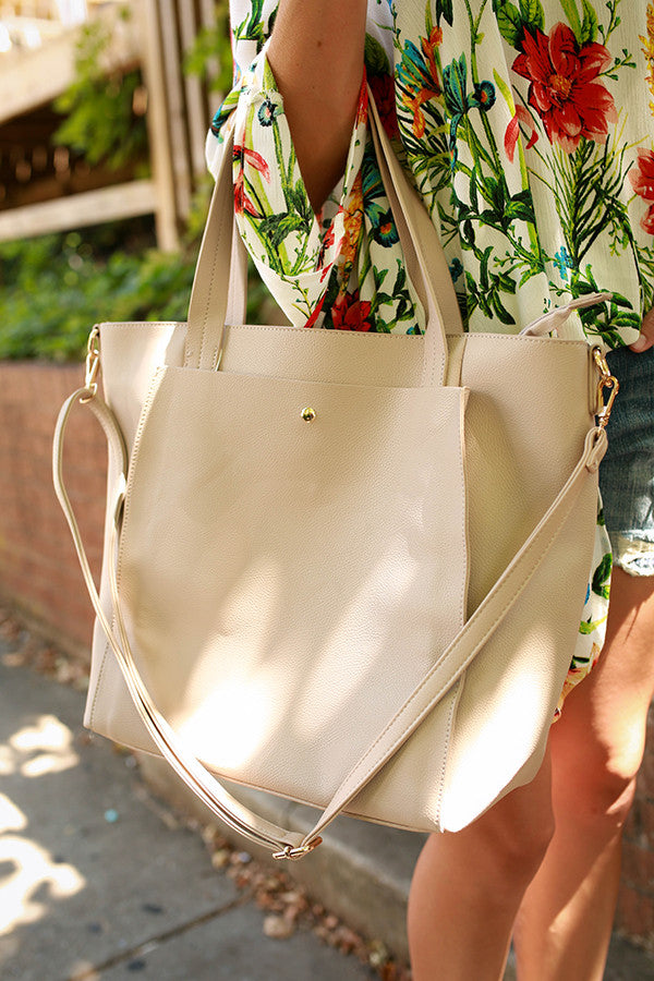 First Love Tote Bag in Birch