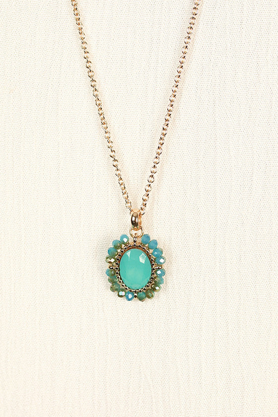True Love Necklace in Turquoise
