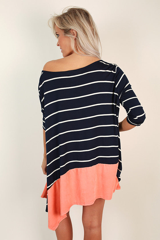 Shine Bright Stripe Tee
