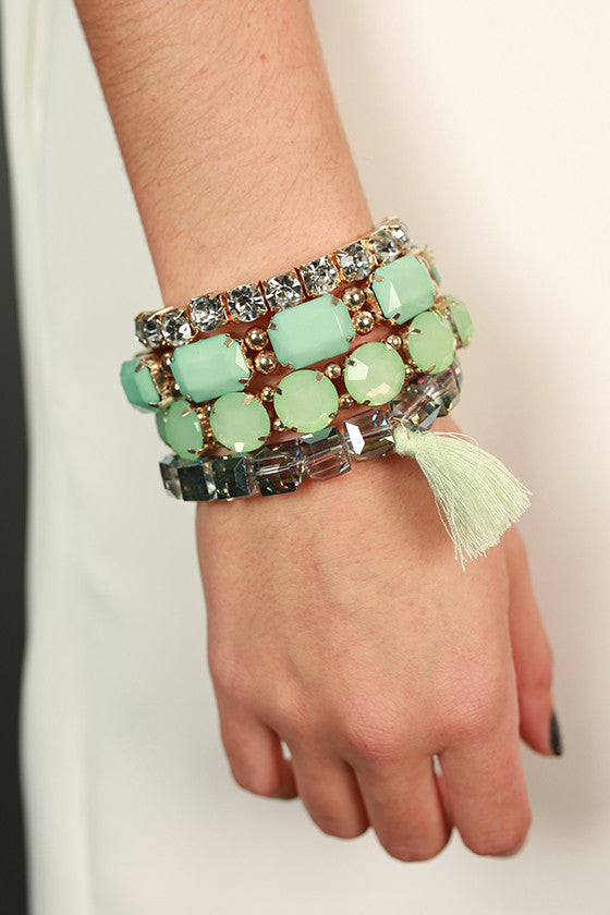 The Must Have Bracelet in Mint