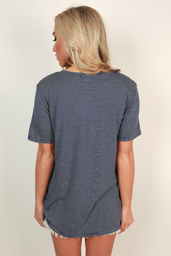 Oh Sweet Sailor Knot Tee in Navy