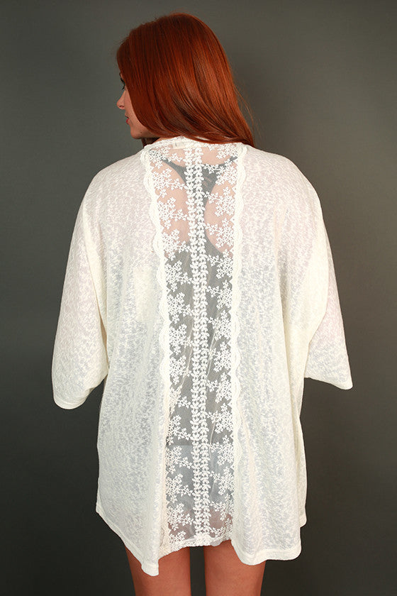 Sea Breeze Lace Cardigan