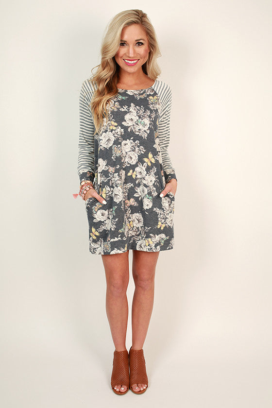 Butterfly Kisses Shift Tunic