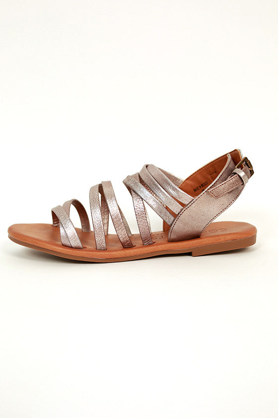 Montauk Sandal in Pewter