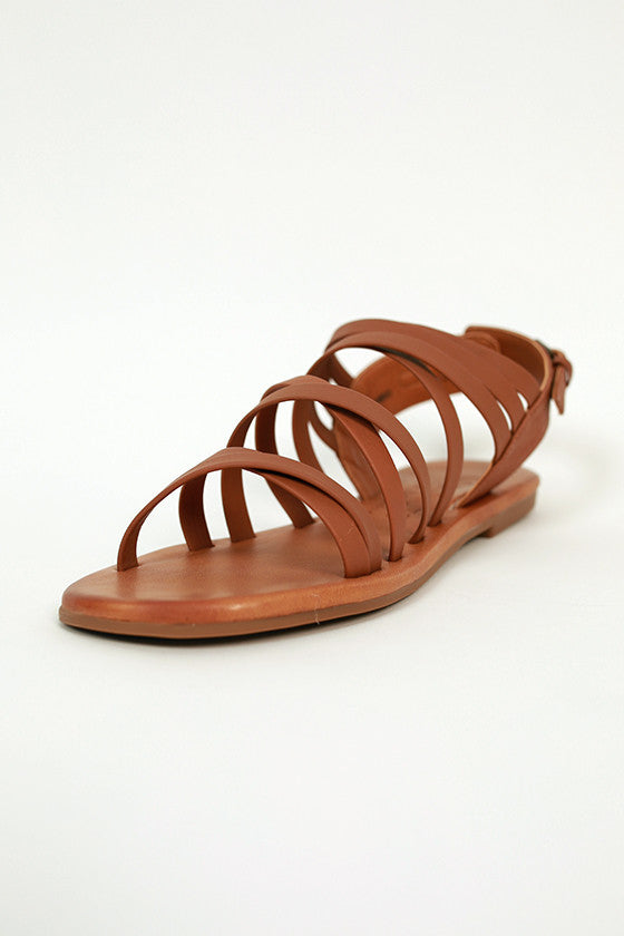 Montauk Sandal in Brown