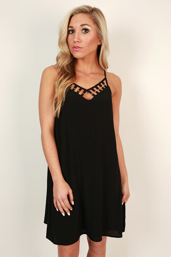 Curfew Countdown Shift Dress