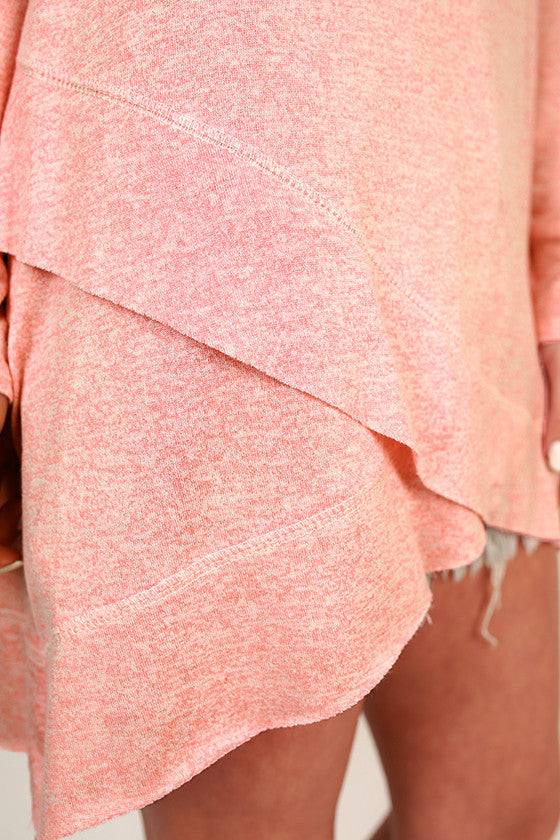 Porch Party Shift Tunic in Peach