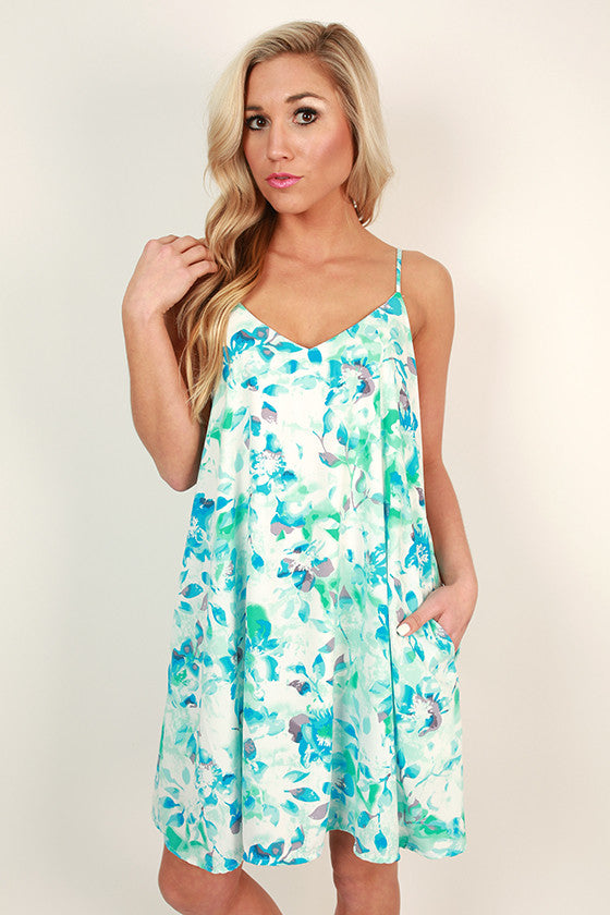Day Dreamer Floral Shift Dress