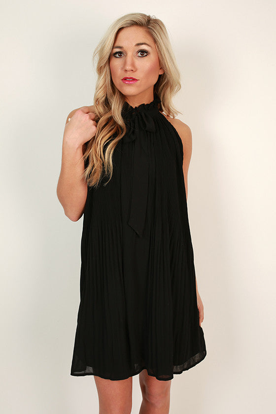 High Spirits Shift Dress in Black