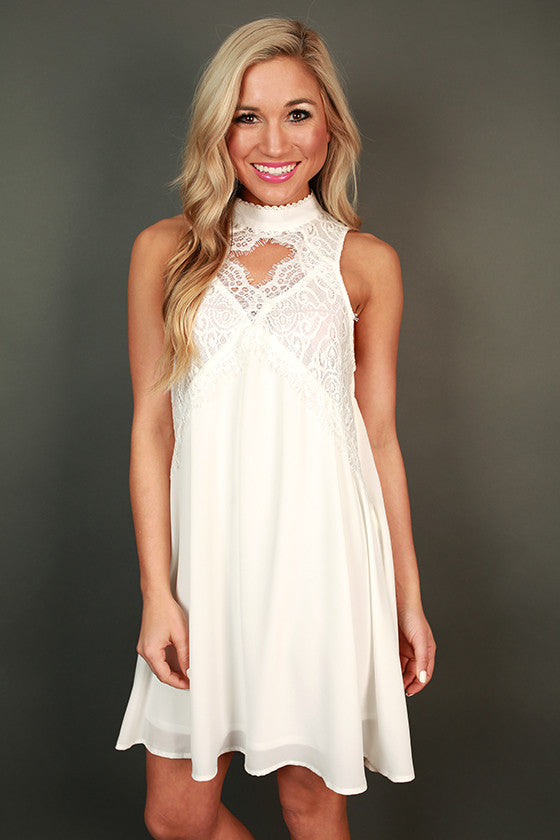 Whisk Me Away Shift Dress