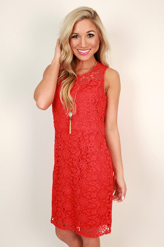 Party At The Ritz Crochet Dress