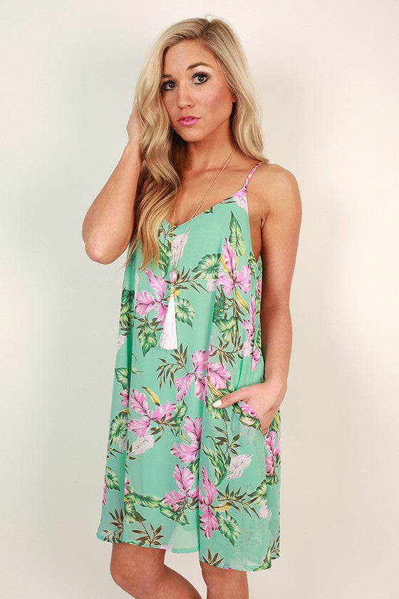 Soul Sister Floral Shift Dress