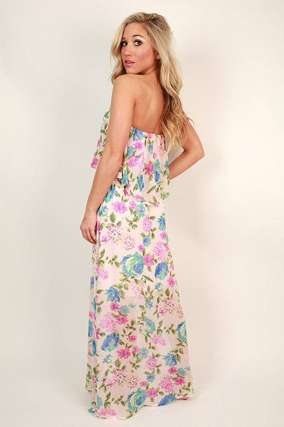 Floral Luxe Maxi Dress