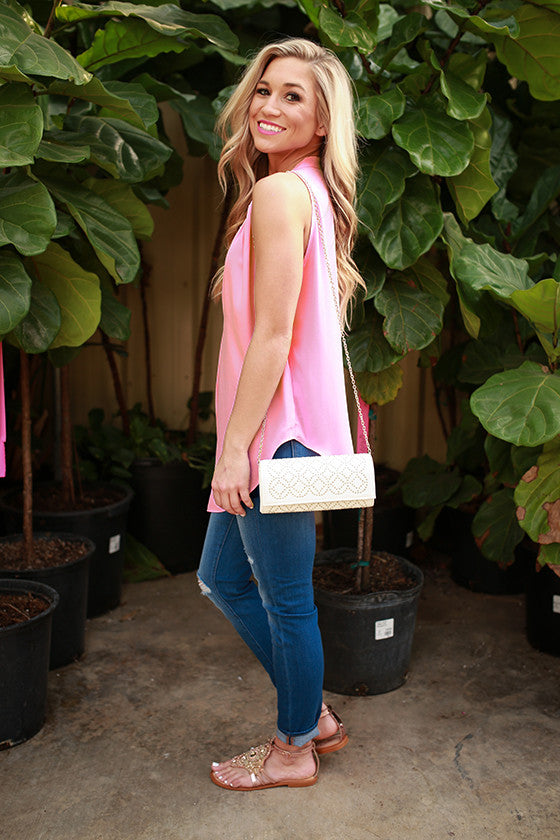 Juniper Darling Tank in Pink