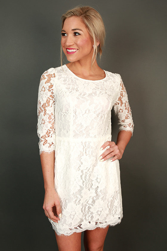 Queen For A Day Lace Dress