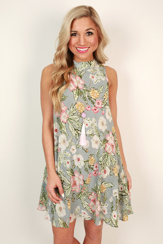 Floral Haven Shift Dress