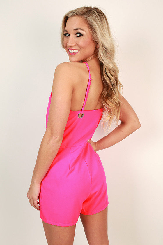 Dancing Until Dawn Romper