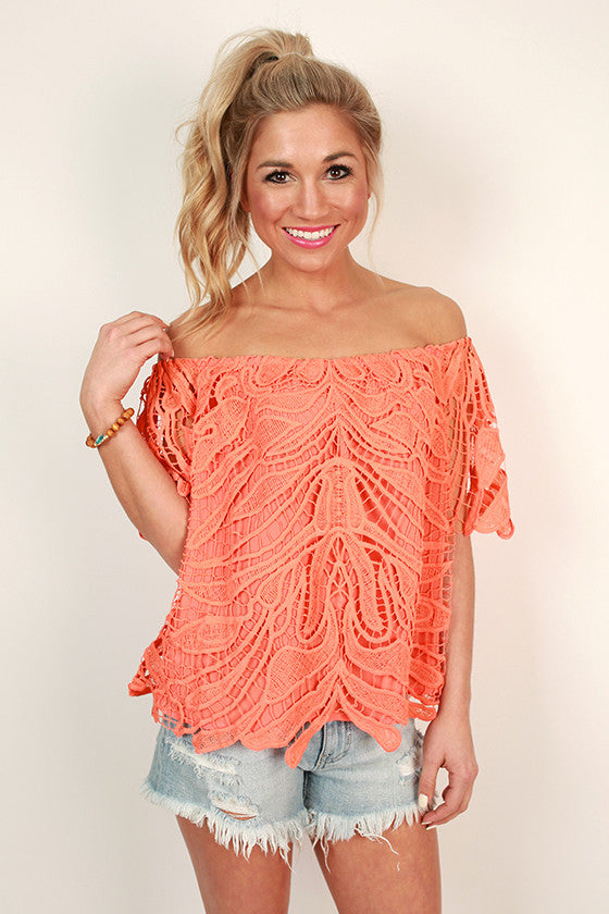 Island Vibes Crochet Top