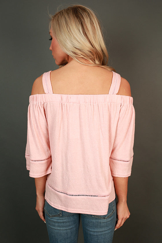 Parisian Shopping Off Shoulder Top