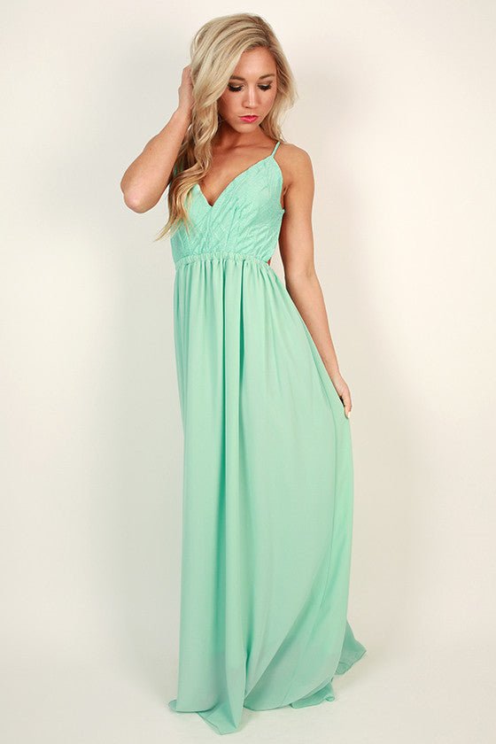 Mint Julep Maxi Dress