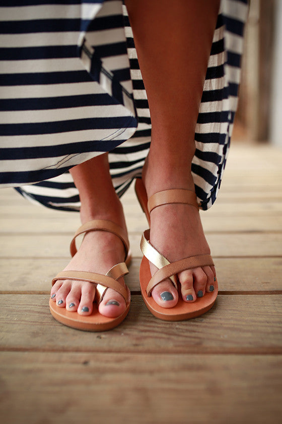Tiny Sandal in Tan