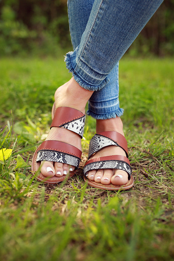 On The Spot Sandal