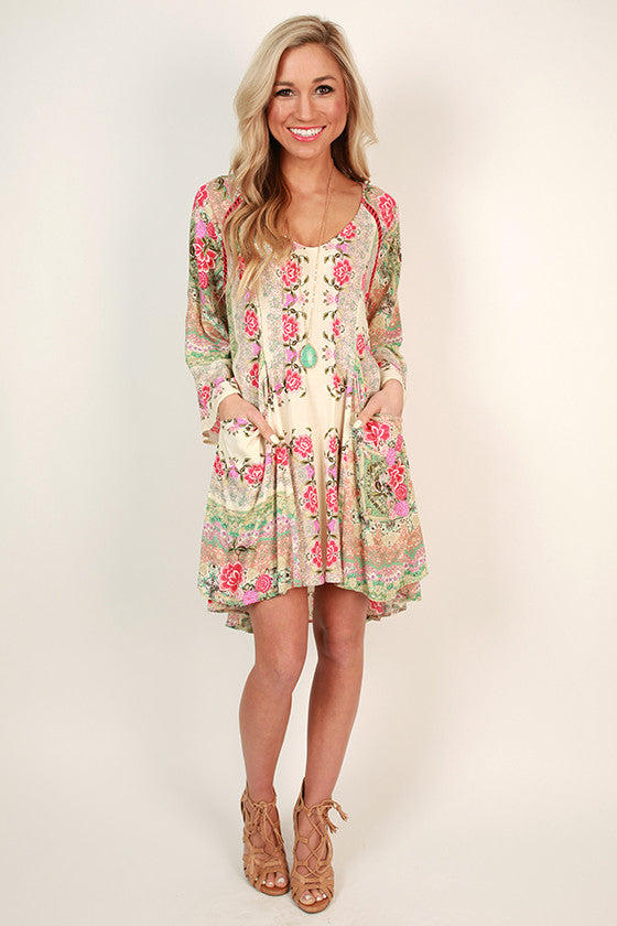 Lily Garden Shift Dress