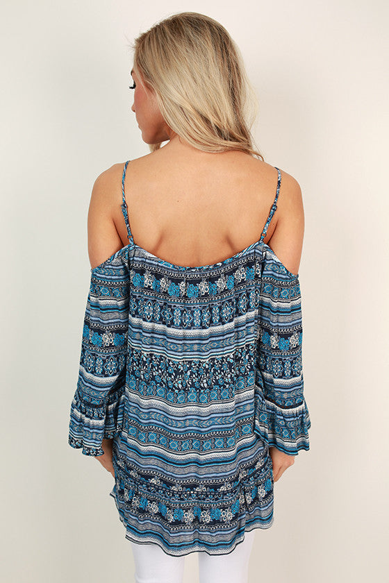 Island Oasis Off Shoulder Top