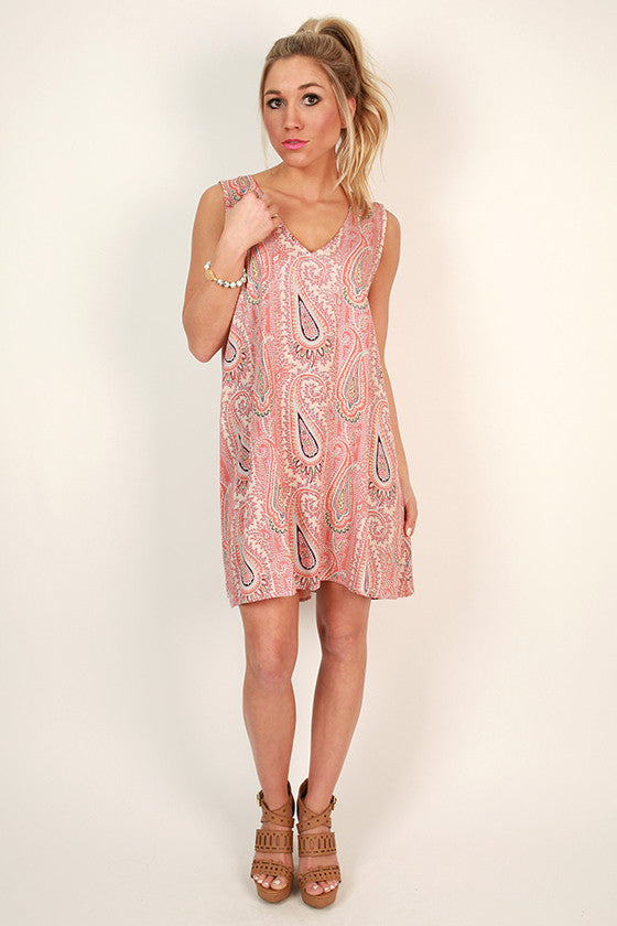 Play on Prints Shift Dress