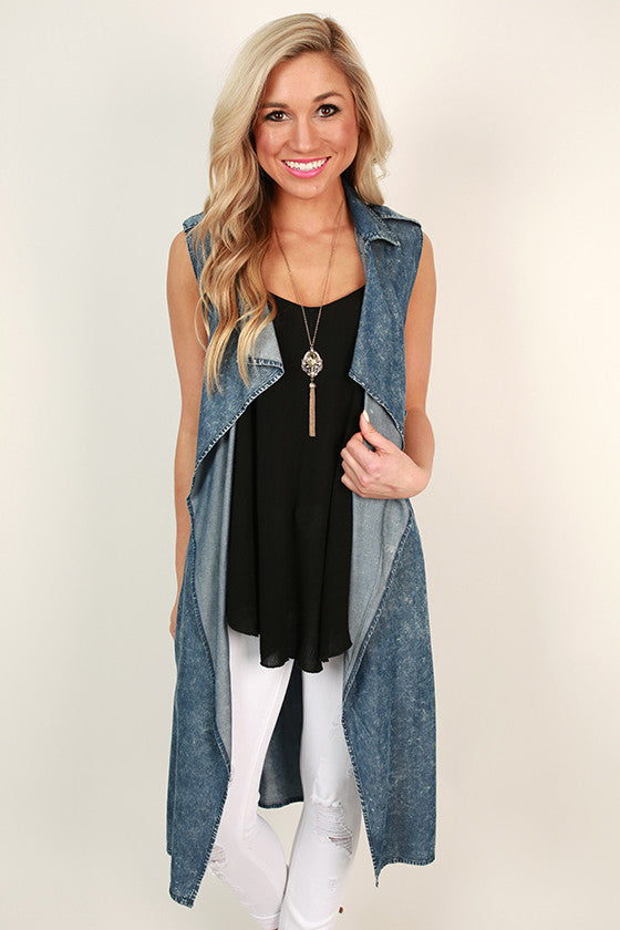 Napa Vineyard Sleeveless Jacket