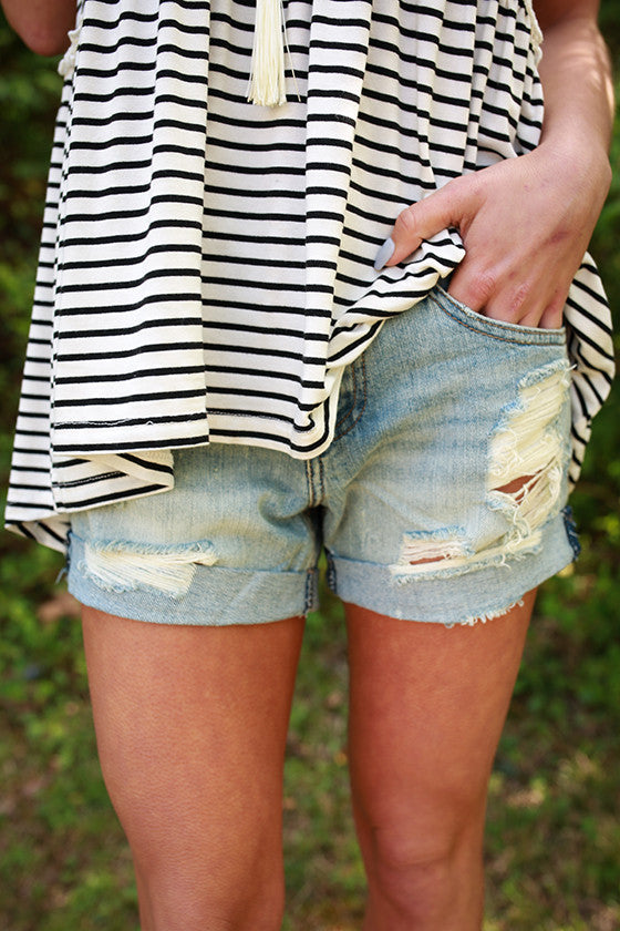 Asher Boyfriend Shorts